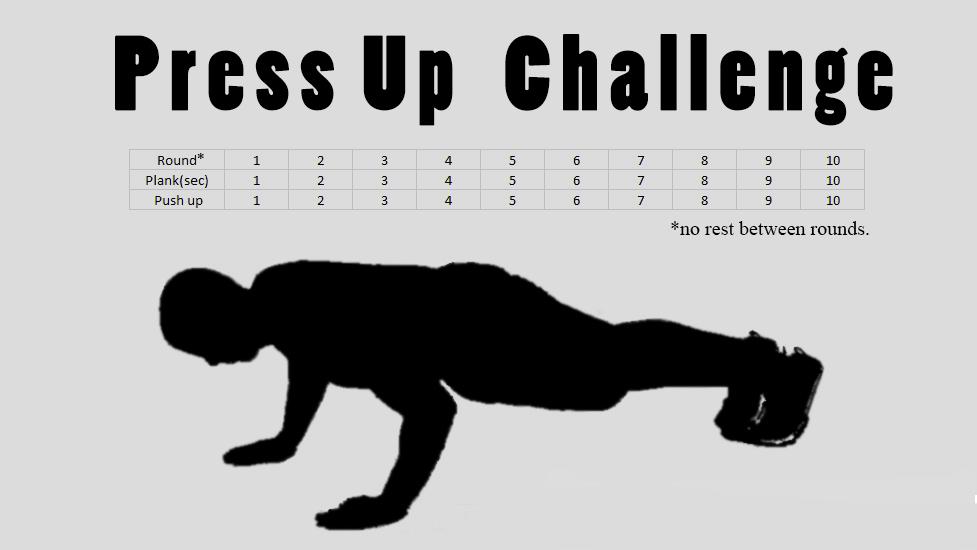 55 Press Ups Challenge