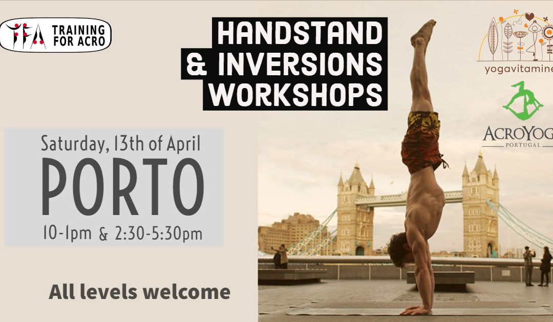 Handstand & Inversions Workshops – Porto