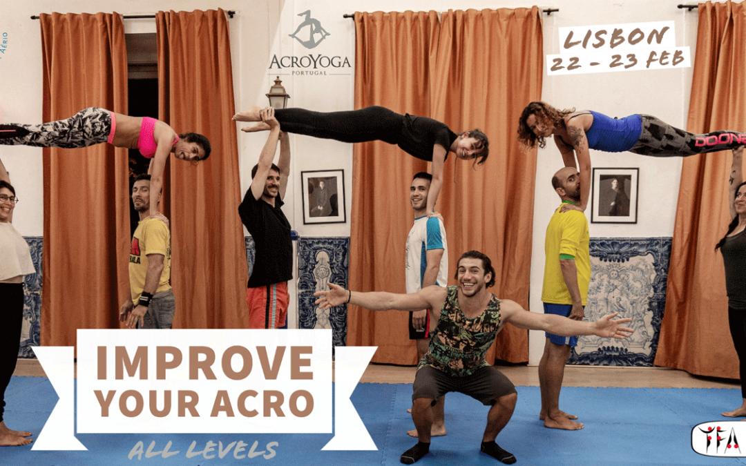 Improve Your Acro Workshop – Lisbon (22 – 23 Feb)